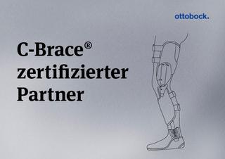 Das Bild zeigt ein Zertifikat von der Firma Ottobock